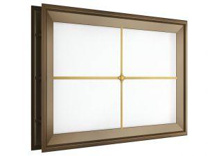 Окно акриловое для ворот Дорхан
