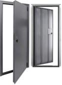 Дверь Техническая Фактор (с уголками под панель)
