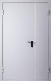 Дверь противопожарная двупольная  EI 60 металлическая (ДПМ 02-60)