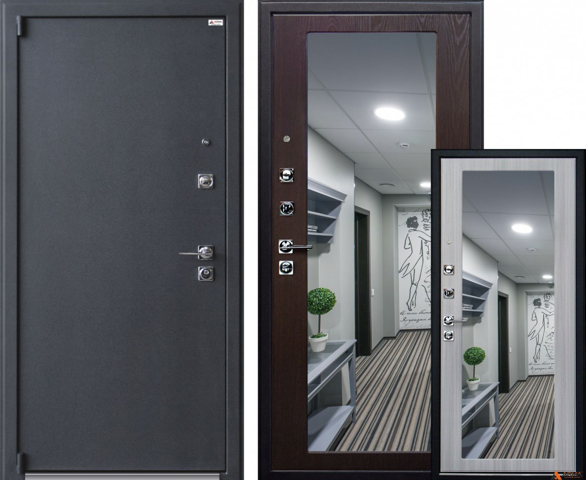Сейф-двери Стандарт 2 New CRIT