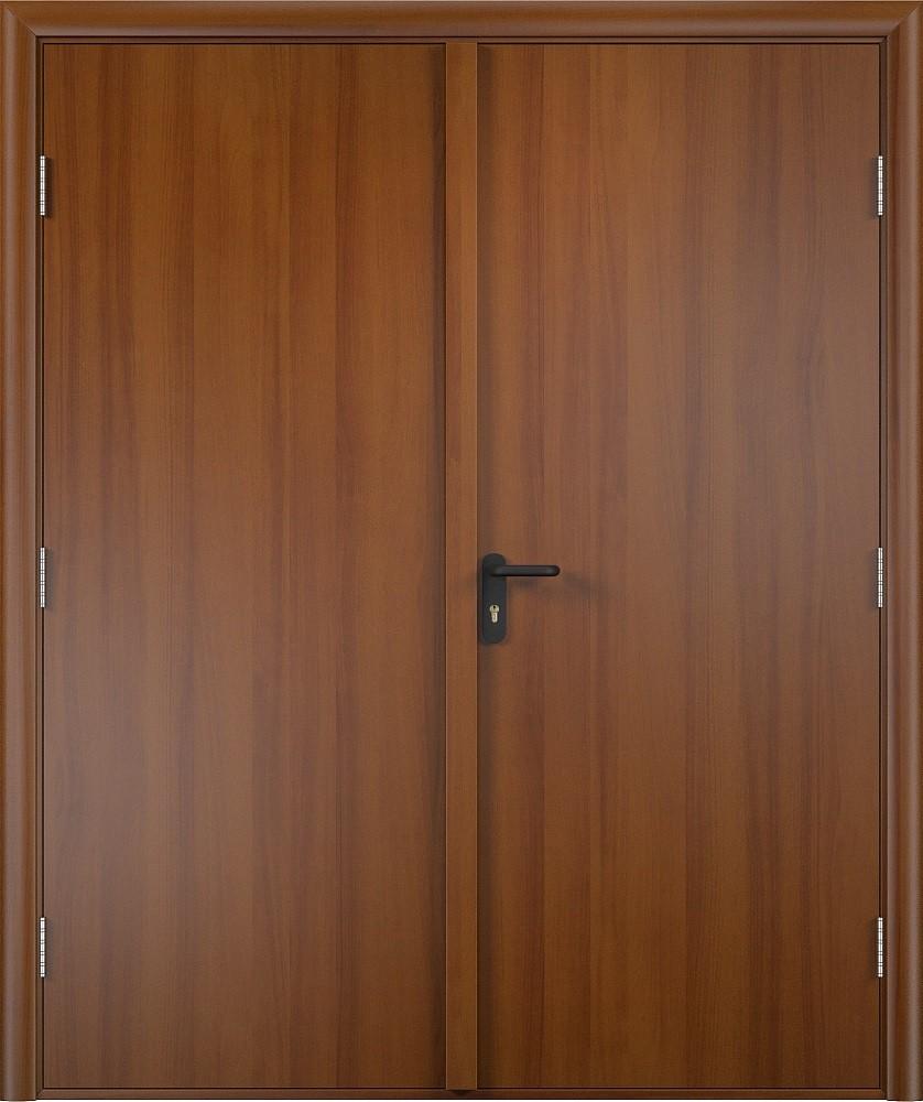 Дверь противопожарная двупольная ламинированная EI 60